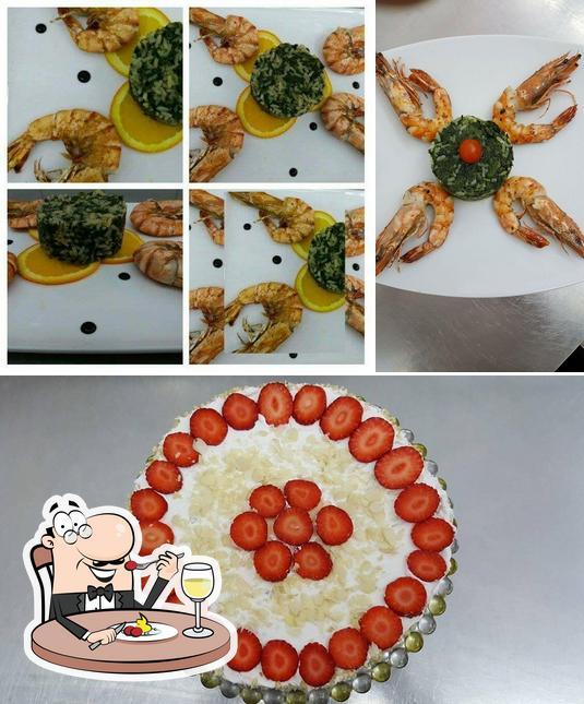 Essen im Raphael's Restaurant - griechische Küche