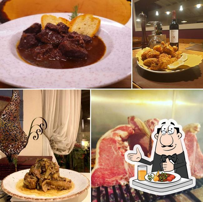 Essen im Osteria di Angelo