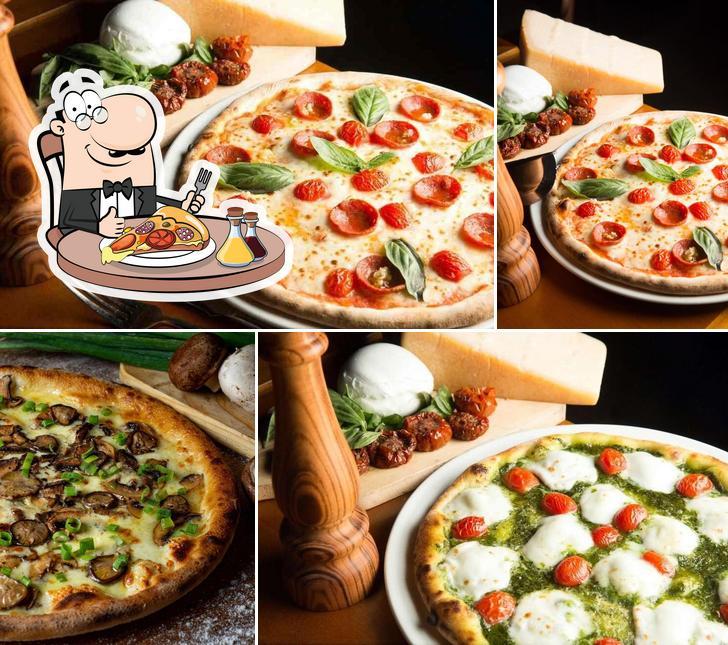 Peça pizza no Domenica