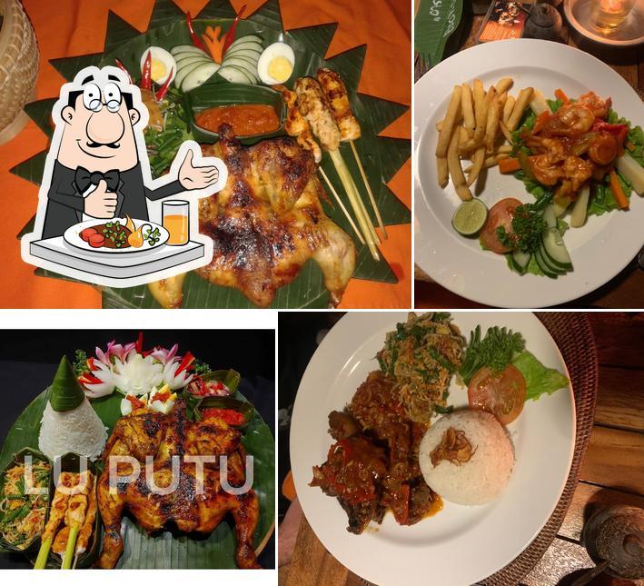 Food at Warung Lu Putu