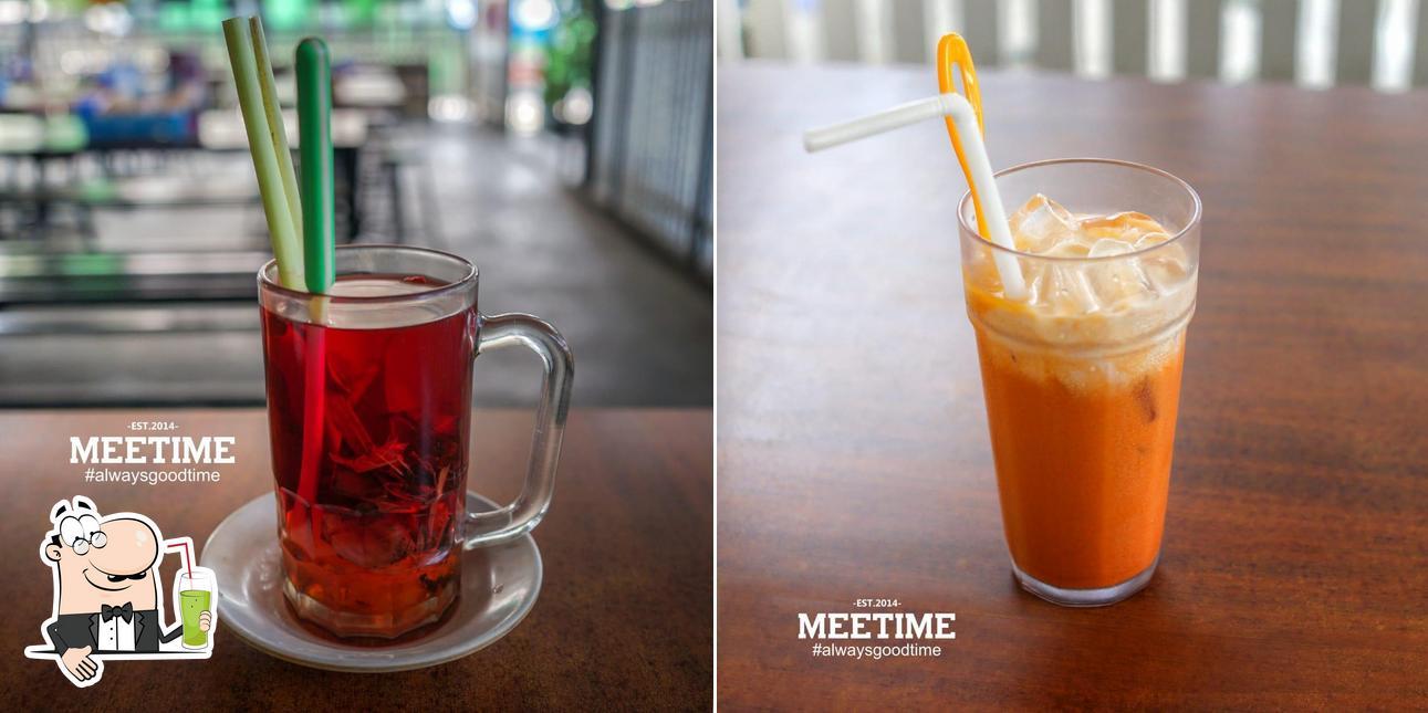 Насладитесь напитками из бара Meetime