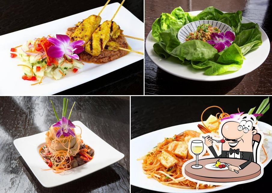 Food at Osha Thai Noodle Cafe
