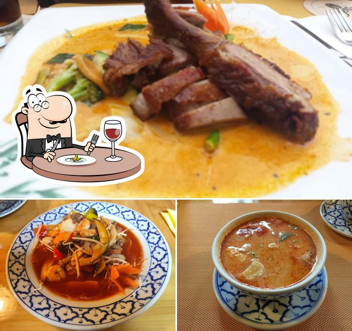 "Еда в ""Hirsch Asia"""
