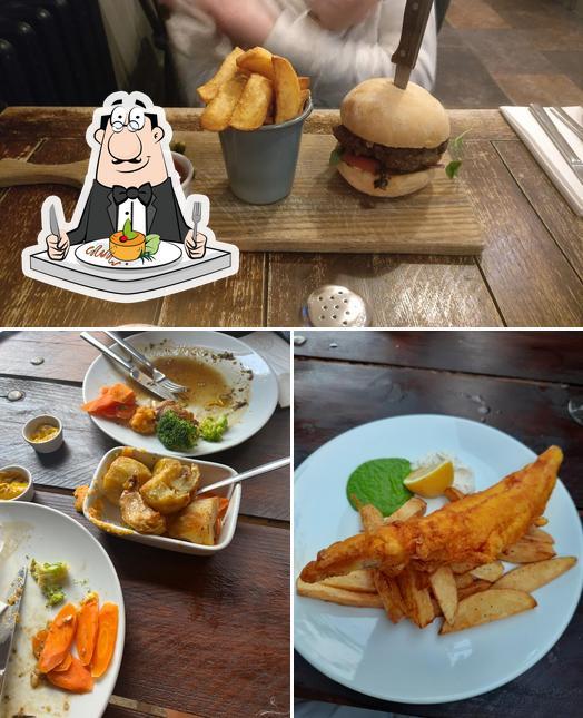 Food at Crate & Apple Pub