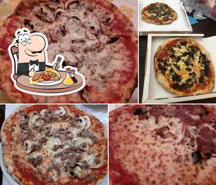 Elige una pizza en Pizzeria 2001