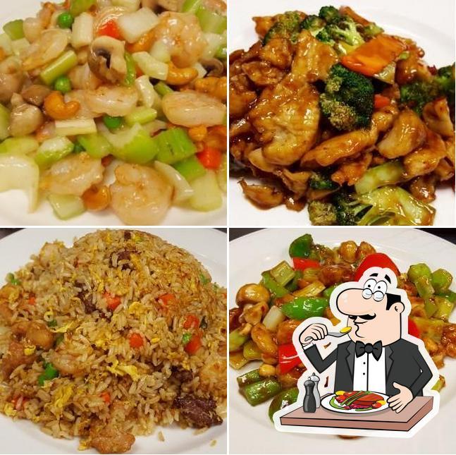 "Еда в ""Jiang's Chinese"""