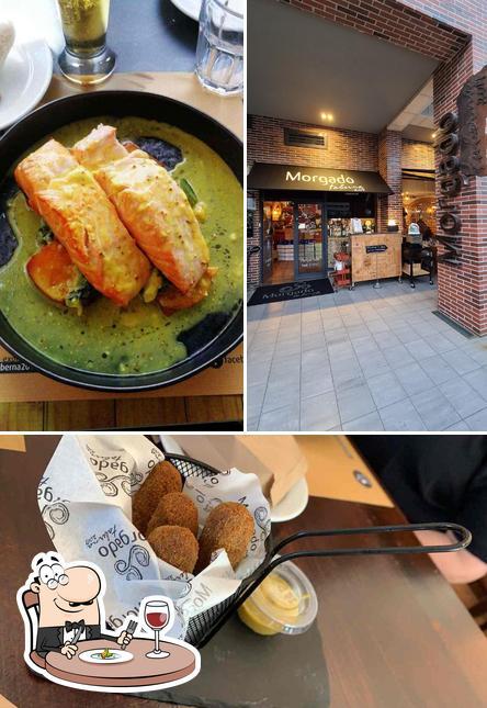 Comida em Restaurante Morgado Taberna 2017