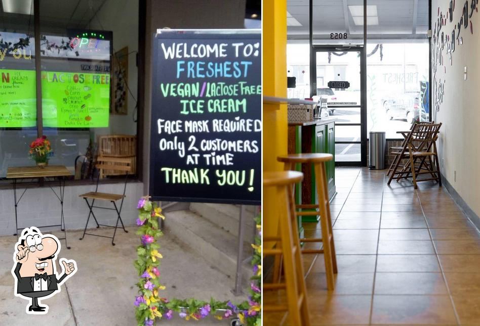Check out how Freshest Ice Creams looks inside