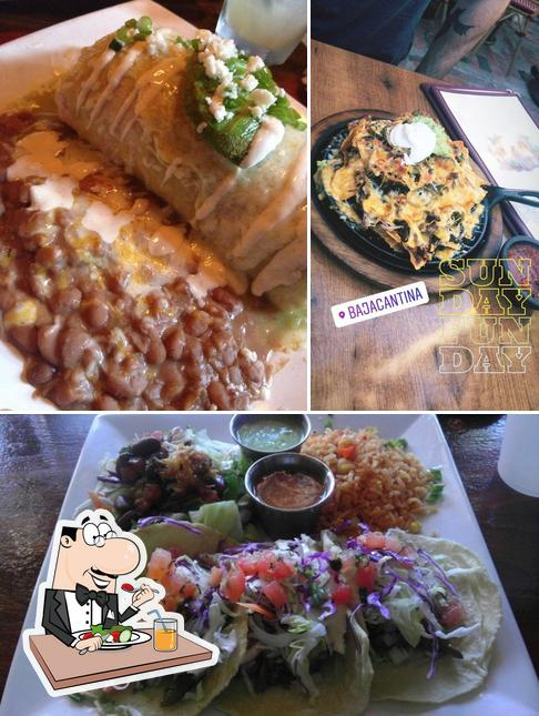 Food at Baja Cantina