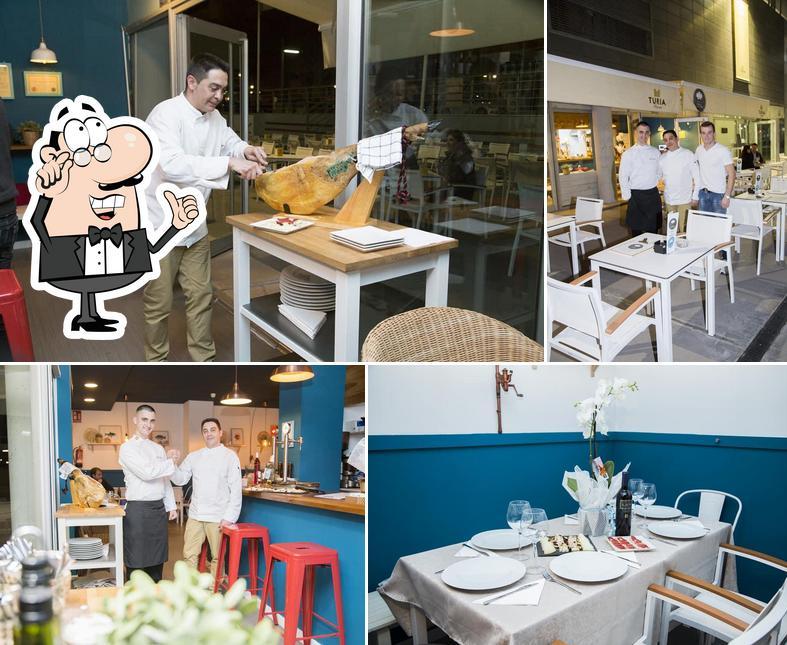 El interior de Restaurante Chef Denis