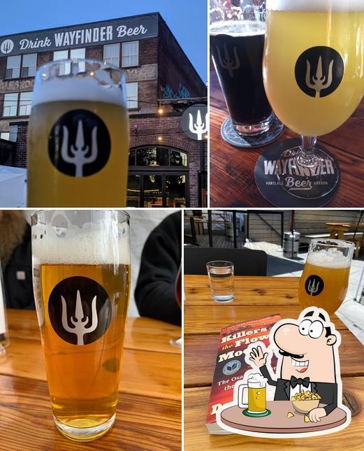 Wayfinder offers a range of beers