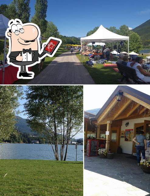 L'extérieur de Agrigelateria La Ca Sul Lago