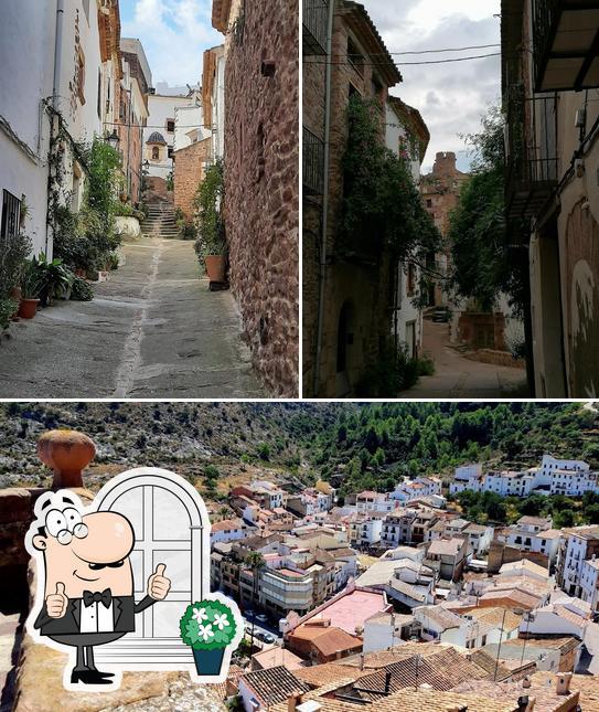 Las imágenes de exterior y cerveza en La Vinya