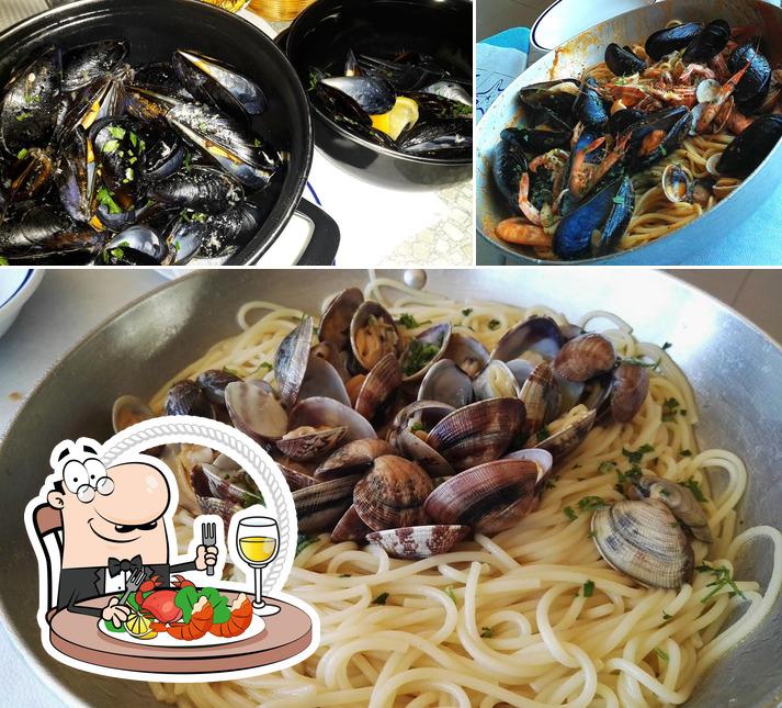 Bestellt Meeresfrüchte bei Al Pilone