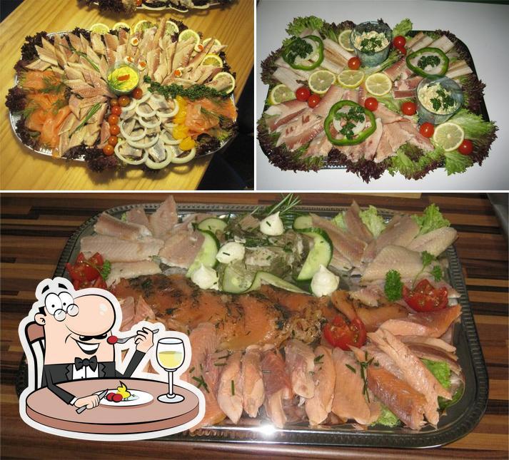 Essen im Garlstedter Fischzucht