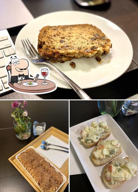 Food at Brisk Cafe