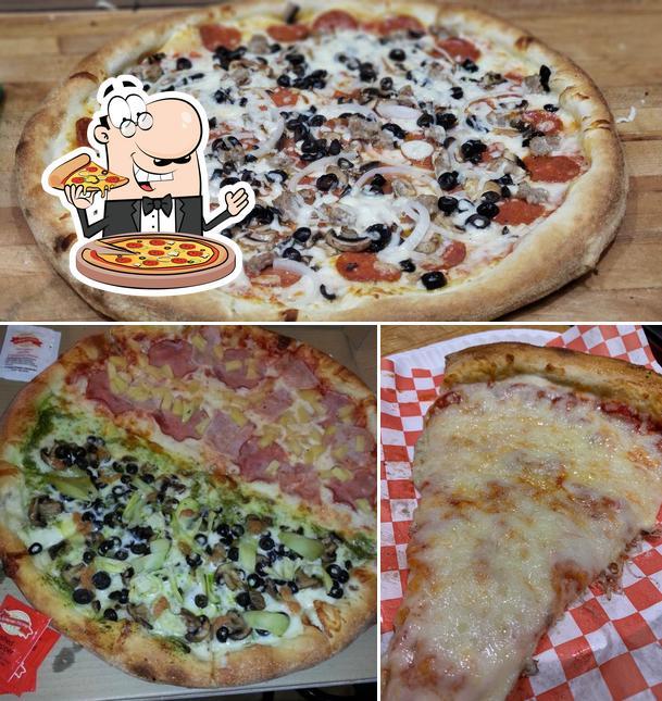 Order pizza at Mr Pizza Man San Mateo