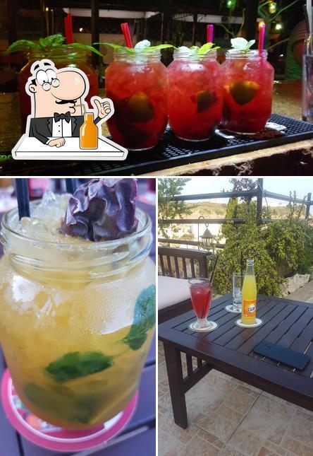 Enjoy a drink at Sky-Line