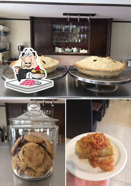 Augusta Louise Cafe Bistro provides a number of sweet dishes