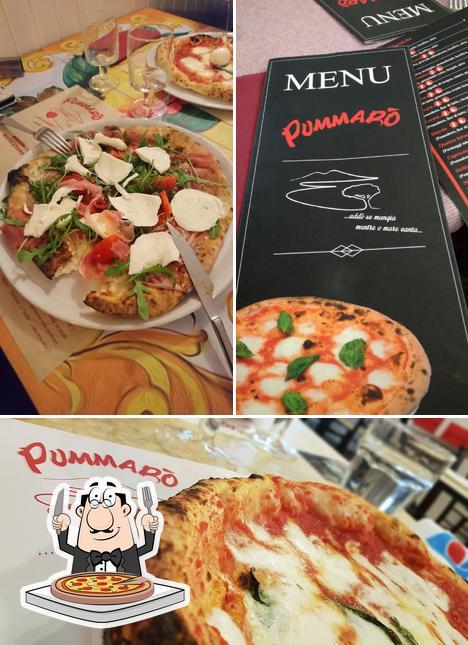 Scegli una pizza a Ristorante Pizzeria Pummarò