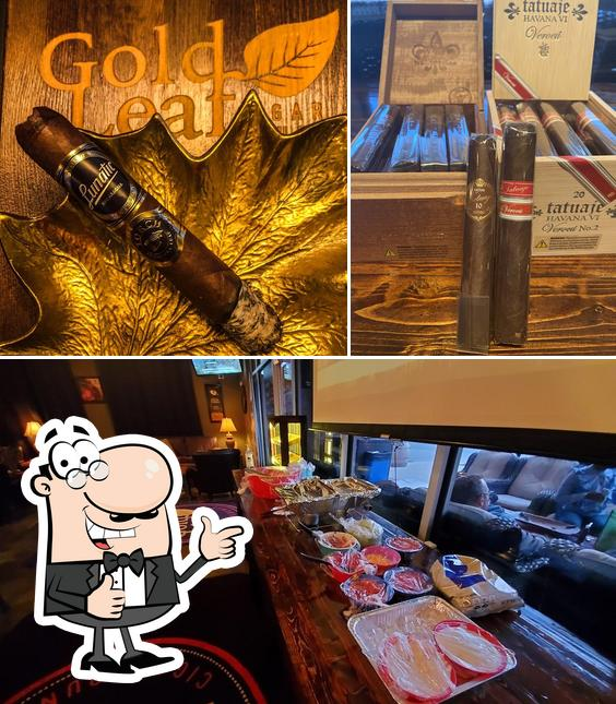 Here's an image of Gold Leaf Cigar Lounge