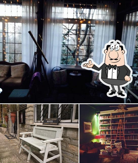 Check out how The Lost Unicorn Restaurant looks inside
