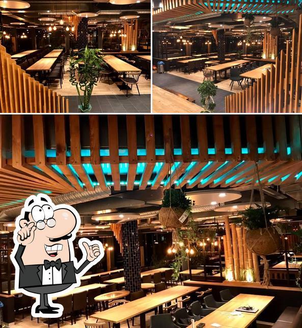 Интерьер MEET SAIGON - Vietnamesisches Restaurant
