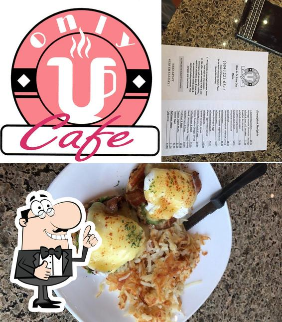 See this picture of Only U Cafe