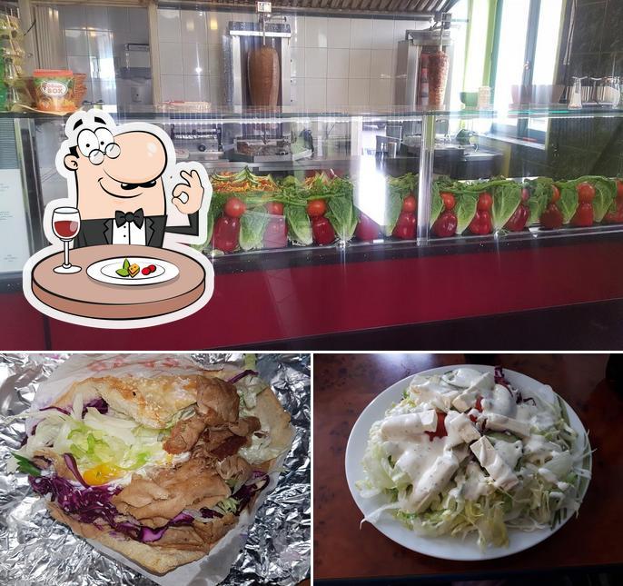 Gerichte im City Grill