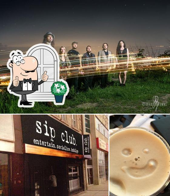 The picture of Sip Club's exterior and beverage