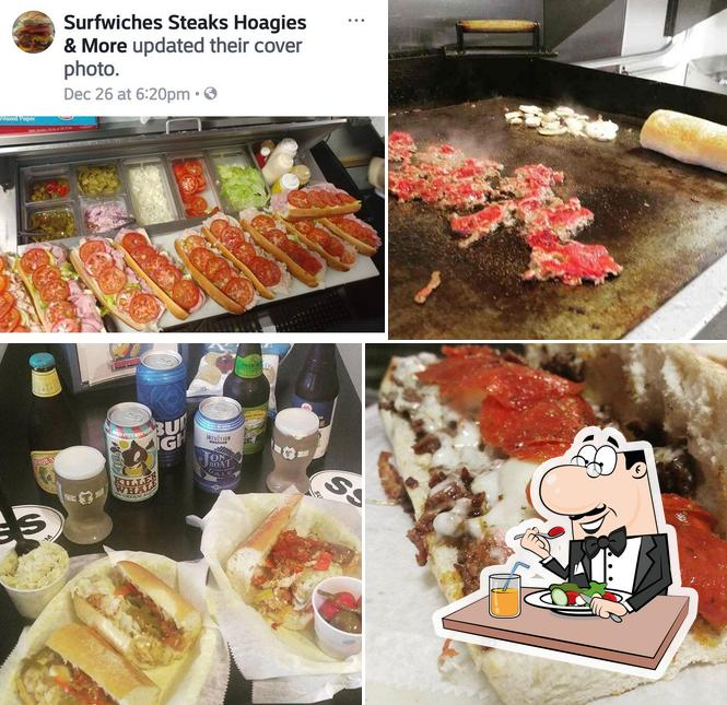Meals at Surfwiches Steaks Hoagies & More