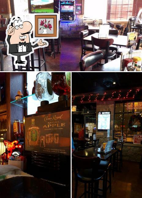 The interior of Evviva! Bar & Eatery