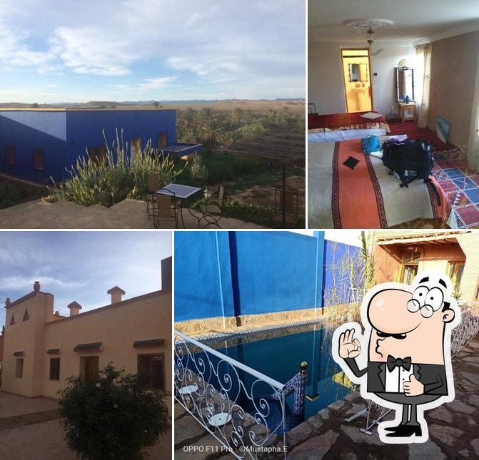 Look at the pic of Kasbah Petit Nomade