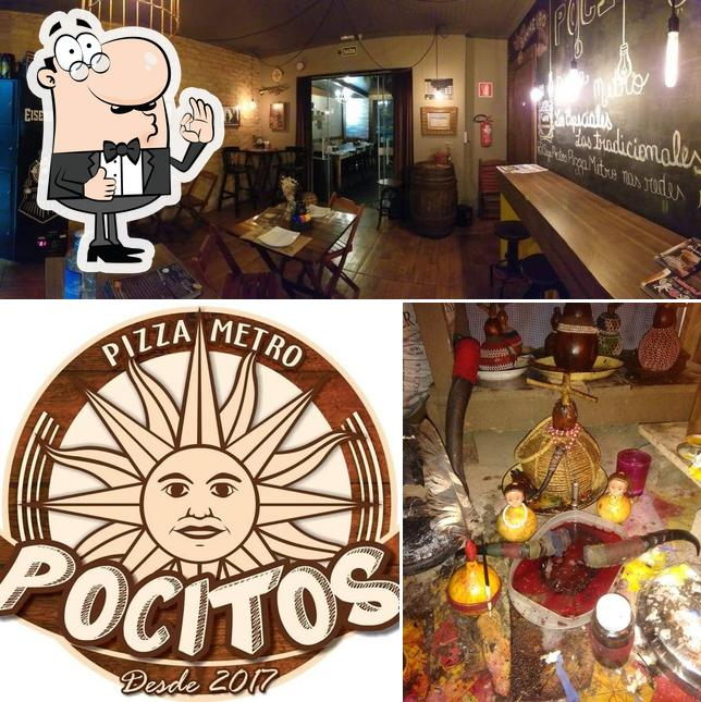Look at this picture of Pocitos Pizza Metro