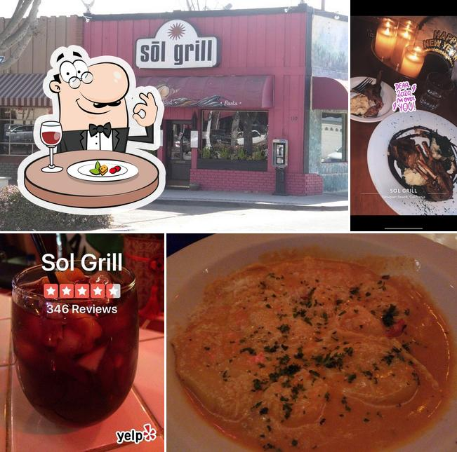 Comida en Sol Grill