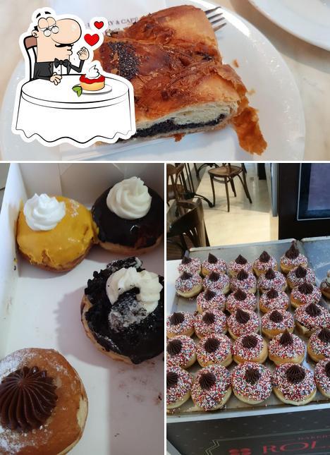Roladin provides a number of desserts