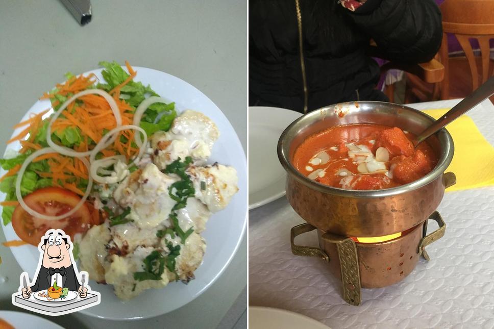Platos en Swaad Restaurante Indiano e Kebab House