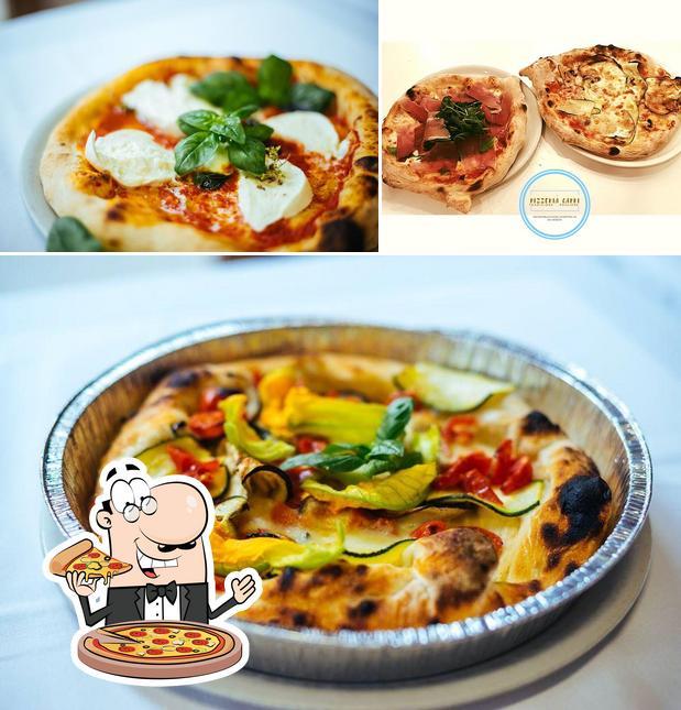 Ordina una pizza a Ristorante Pizzeria Capri