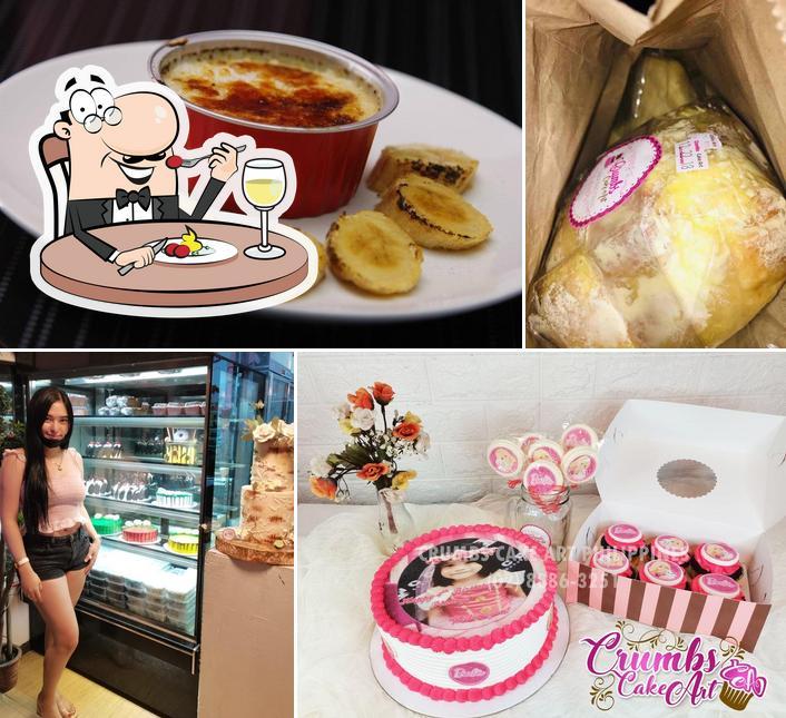 Food at Crumbs Cake Art