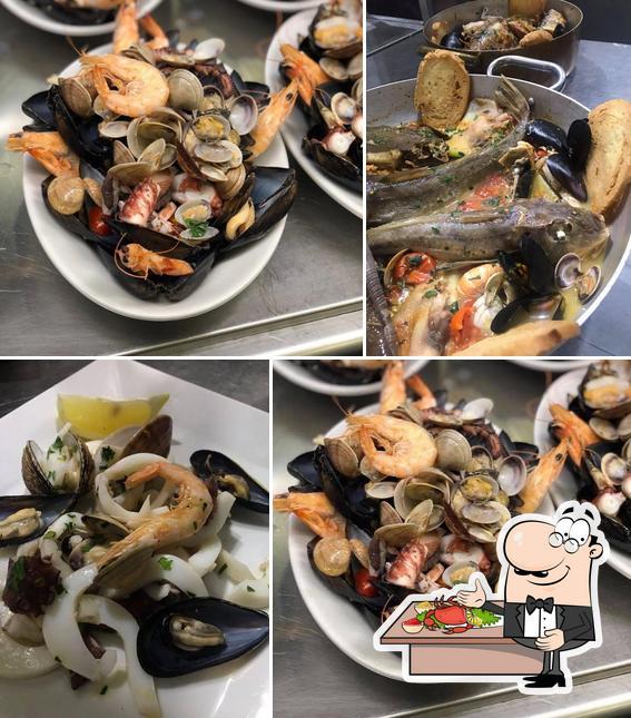 Ordina la cucina di mare a Oasi Marina