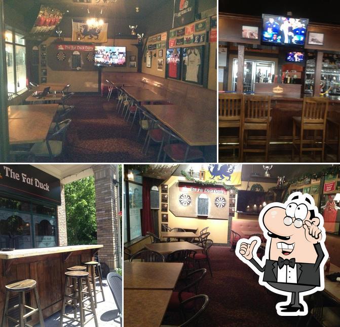The interior of Fat Duck Gastro Pub