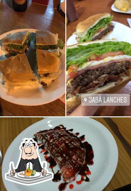 Comida em Jabá Xeio de Rexeio Lanxeteria