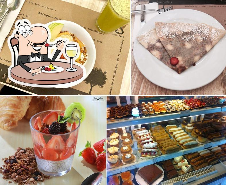 "Еда в ""Chez Céline"""