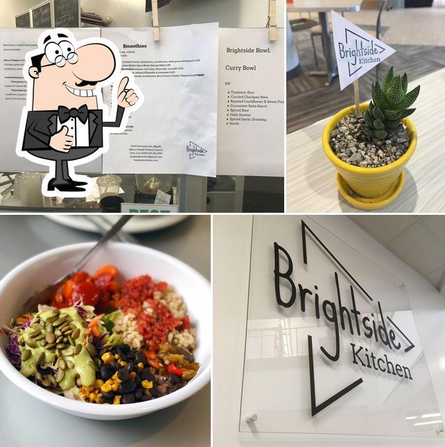 Here's a photo of Brightside Kitchen