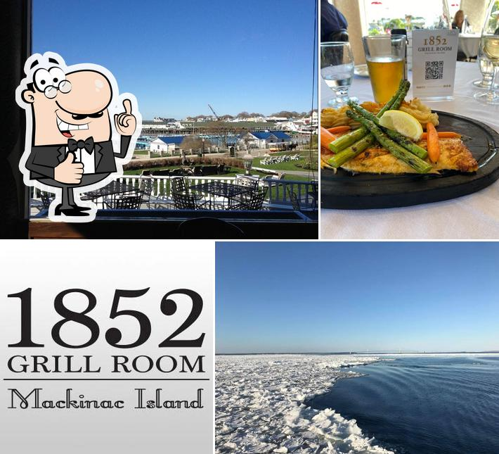 Look at this photo of 1852 Grill Room