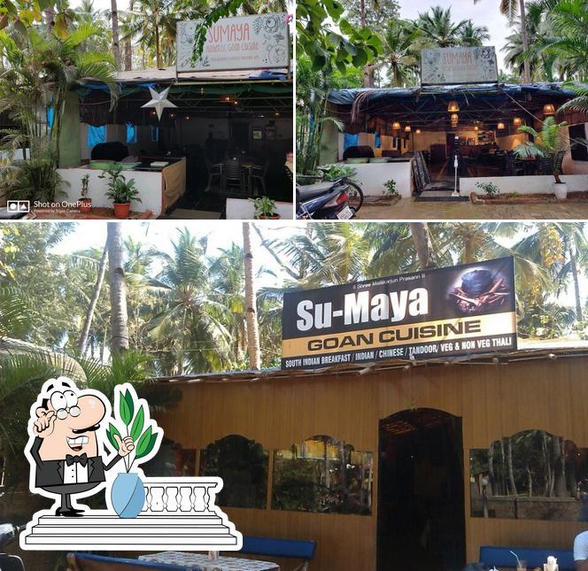 The exterior of sumaya