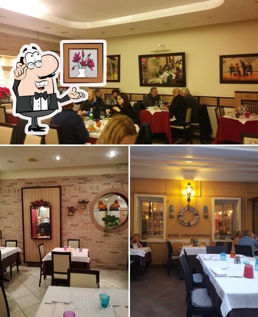 Parmi les différentes choses de la intérieur et la nourriture, une personne peut trouver sur Ristorante Bella Venezia