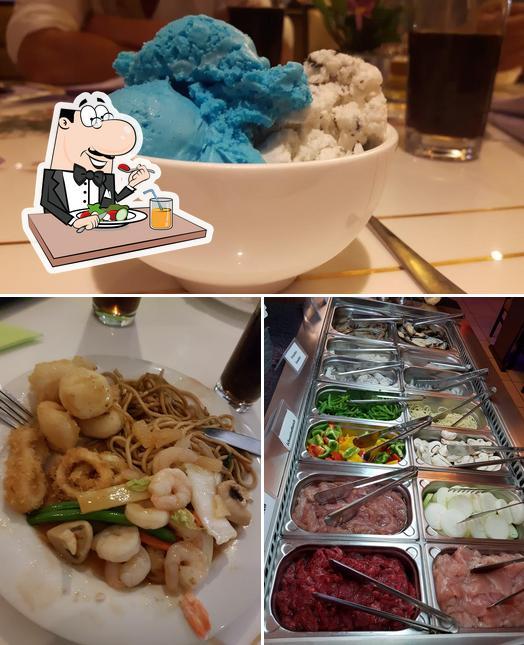 "Еда в ""Kim Wok"""