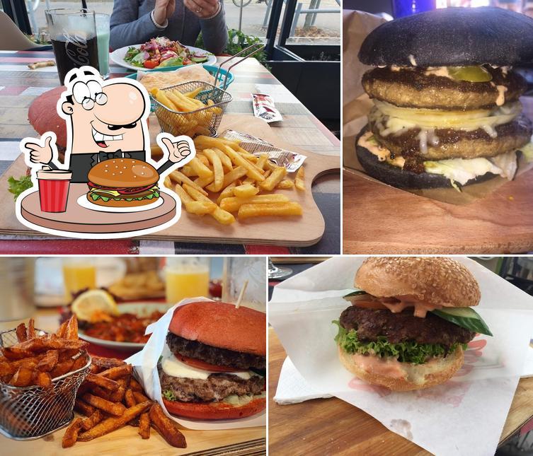 Order a burger at Sarah's - Mediterranean Secret