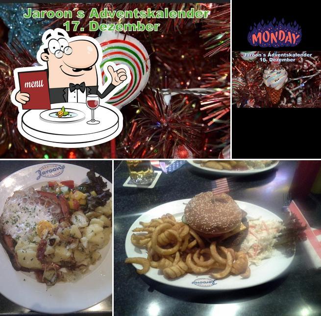 Essen im Jaroon's American Diner